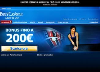 homepage del casino online Partycasino